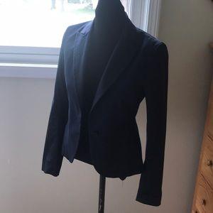 Theory navy pinstriped blazer size 6